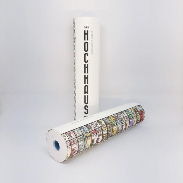 Kreative Geschenke - e-typisch - gerollte Bücher