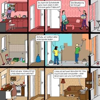 Comic Buch bei e-typisch