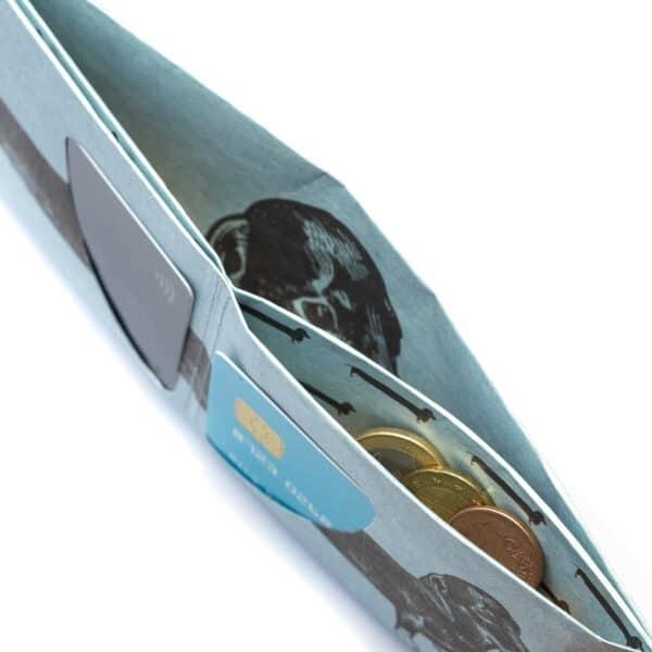 Nachhaltige Geschenke - e-typisch -Portemonnaie RFID_Dackel-Mü+nzfach