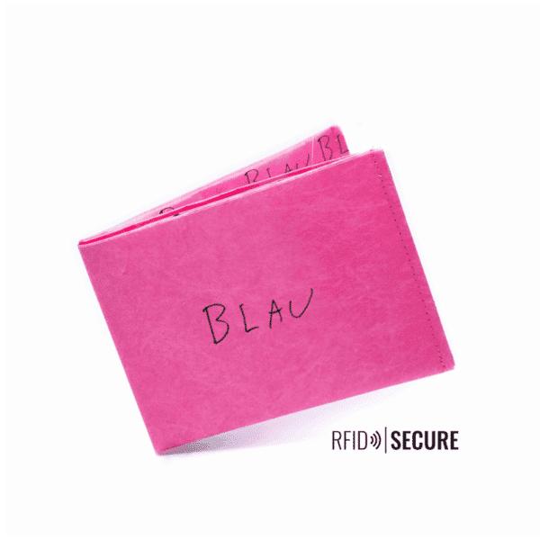 Nachhaltige Geschenke - e-typisch -Portemonnaie RFID_Blau