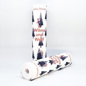 Kreative Geschenke - e-typisch - gerollte Bücher für Kinder