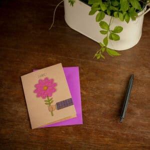 Grüne Geschenk - e-typisch - Saatkarten