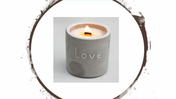 Umweltfreundliche Kerzen - e-typisch
