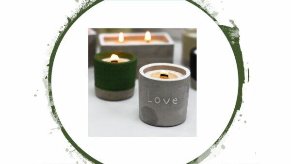 Nachhaltige Kerzen - e-typisch