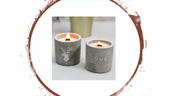Nachhaltige Geschenke - e-typisch - Kerzen