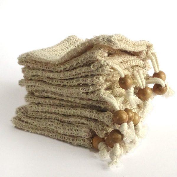 Nachhaltige Geschenke - e-typisch - Seifensäckchen