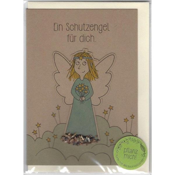 Saatstecker: Schutzengel 1