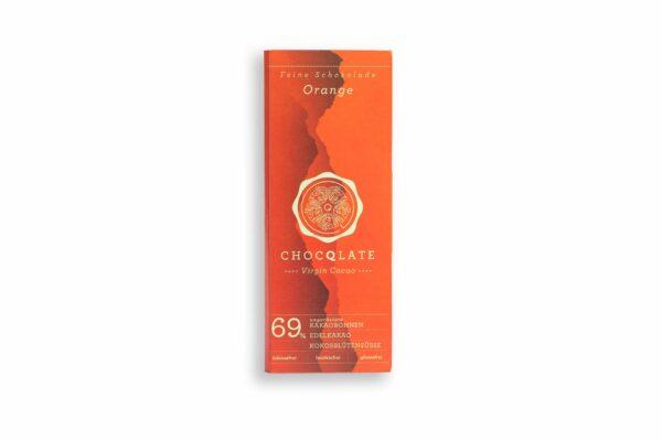 Umweltfreundliche Geschenke - e-typisch Vegane Schokolade mit Orange