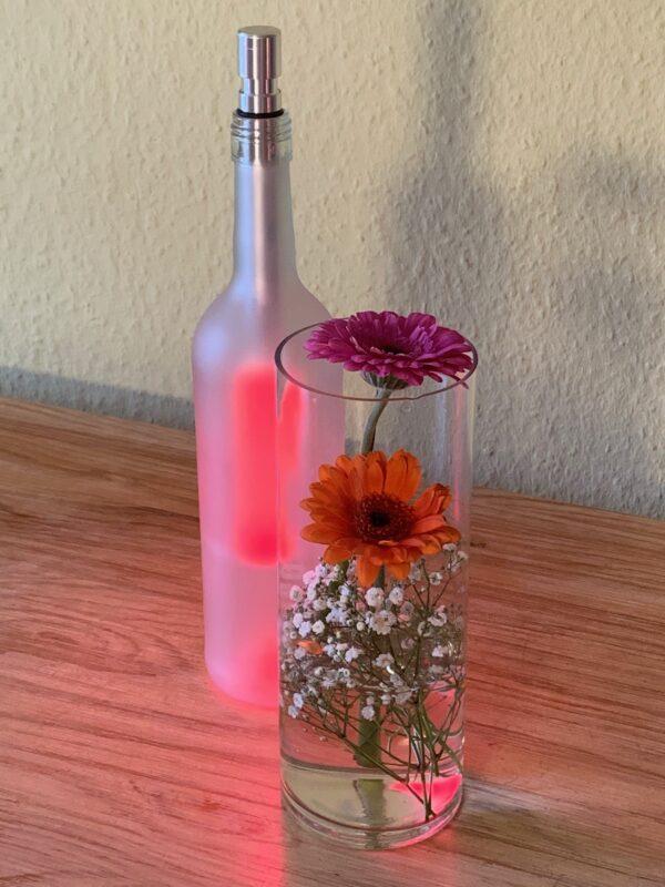 Umwelfreundliche Geschenke - Flaschenleucht - bottlelights mit Farbwechsler