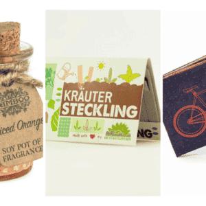 Nachhaltige Geschenke - Produktset e-typisch