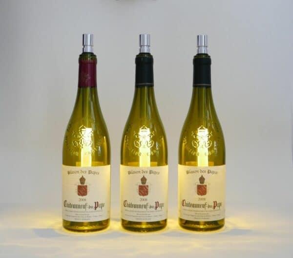 e-typisch bottlelights warmweiß und dimmbar