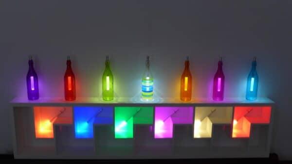 e-typisch - bottlelight mit Farbwechsler