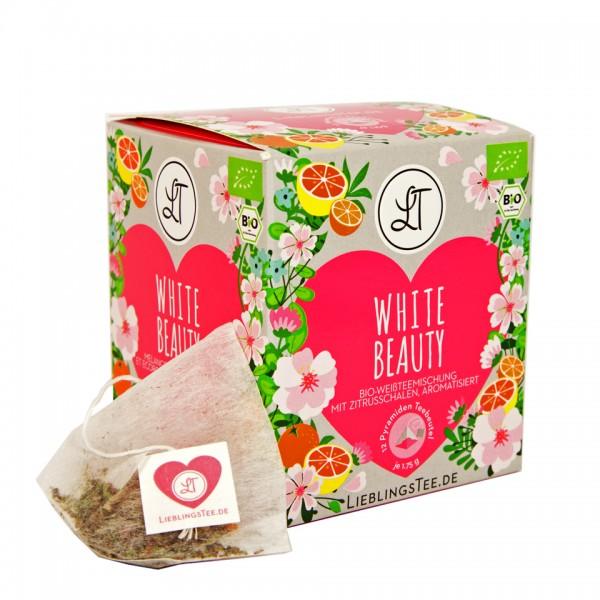 e-typisch Weißer Tee mit Orangenöl