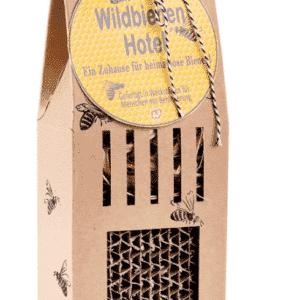 Grüne Geschenke - Wildbienenhotel aus ökologischer Pappe