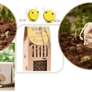 umwelfreundliches Geschenk - e-typisch - Bienenretter-Set