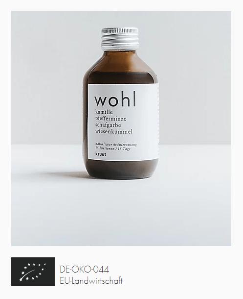 Biologischer Kräuterauszug - Oxymel - Wohl - e-typisch