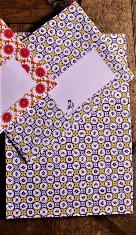 Briefpapier Briefumschlag Meise E-typisch