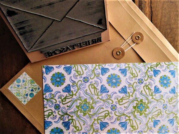 Briefset Möwe Papier & Briefumschlag 1