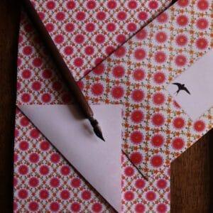 Briefpapier Briefumschlag Schwalbe E-typisch