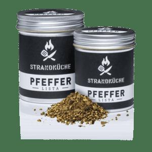 Bio-Pfeffer-Mischung - Schwarzer Pfeffer-Wacholderbeeren-Weißer Pfeffer-Grüner Pfeffer-Senf-Zitronenmyrte