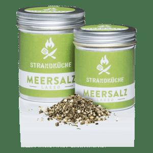 Bio-Meersalz-Mischung - Meersalz, Vollrohzucker, Pfeffer, Thymian,