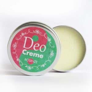 vegane Deocreme - Rose und Minze - e-typisch