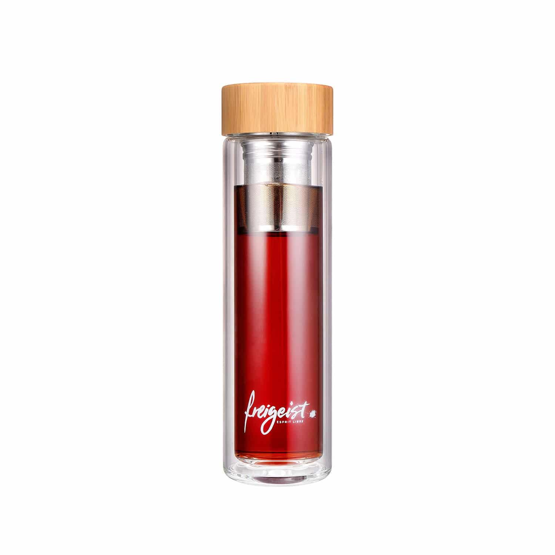 Teeflasche mit Sieb - 500ml 2
