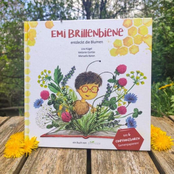 nachhaltiges Kinderbuch - Emi Brillenbiene - e-typisch