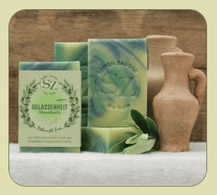 Naturseife Bio-Style • Gelassenheit • 8,25 € / 100 g • 60 g 2