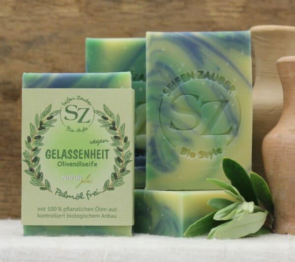 Naturseife Bio-Style • Gelassenheit • 8,25 € / 100 g • 60 g 1