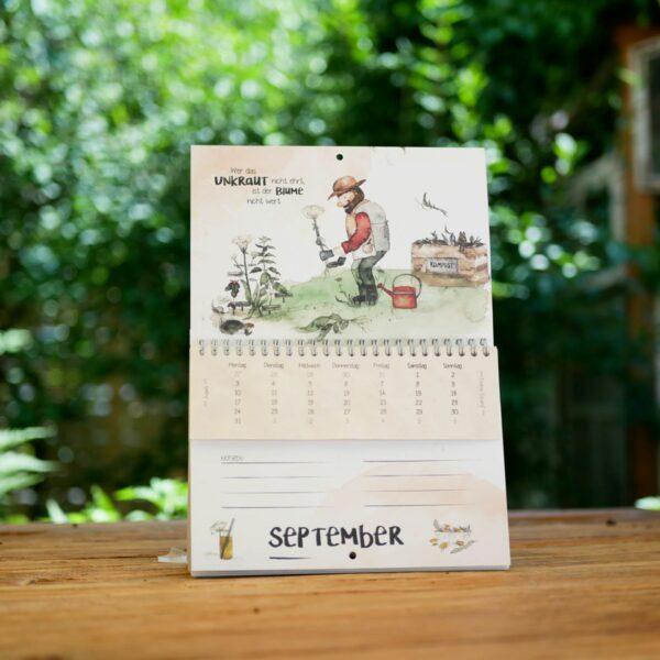 nachhaltiger Kalender - Zwölfmalklug-2021-e-typisch