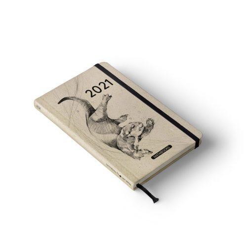 "A5 Kalender Samaya 2021 ""Endangered"" (DE/EN) - Graspapier 4"