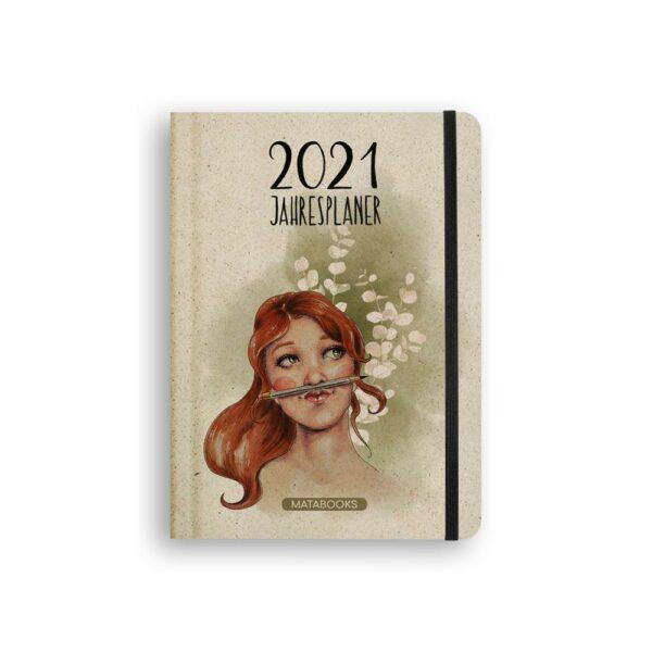 """A5 Kalender Samaya 2021 """"Good vibes only"""" bei e-typisch"""