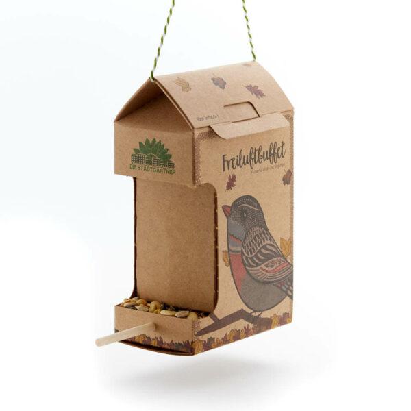 Freiluftbufett Vögel - e-typisch