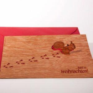Eichhörnchen, Bald ist Weihnachten