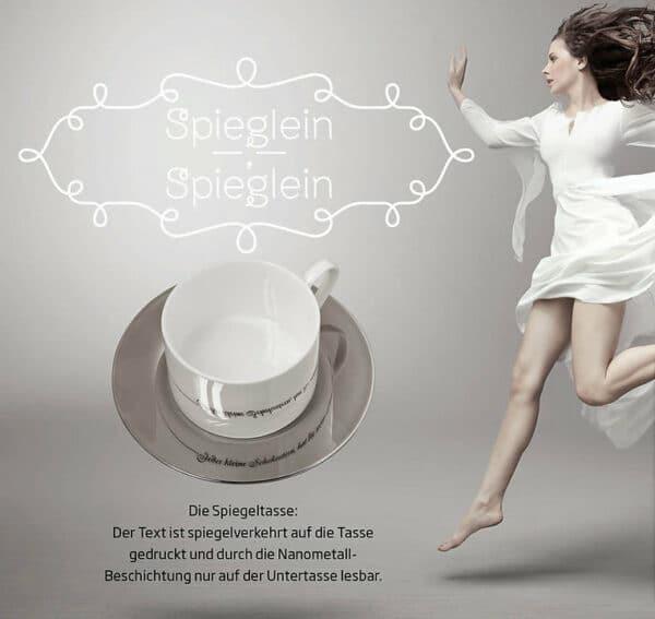 """Spiegeltasse """"Mein Herz tanzt ..."""" 2"""