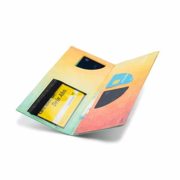 Nachhaltige GeldbörseTyvek® - XL - Diamond Dawn 1