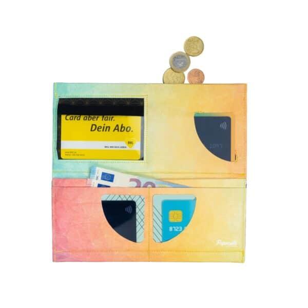 Nachhaltige GeldbörseTyvek® - XL - Diamond Dawn 3
