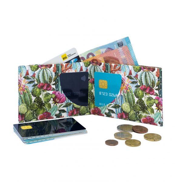 Nahhaltige Geldbörse Tyvek® - Spiky Friends 2