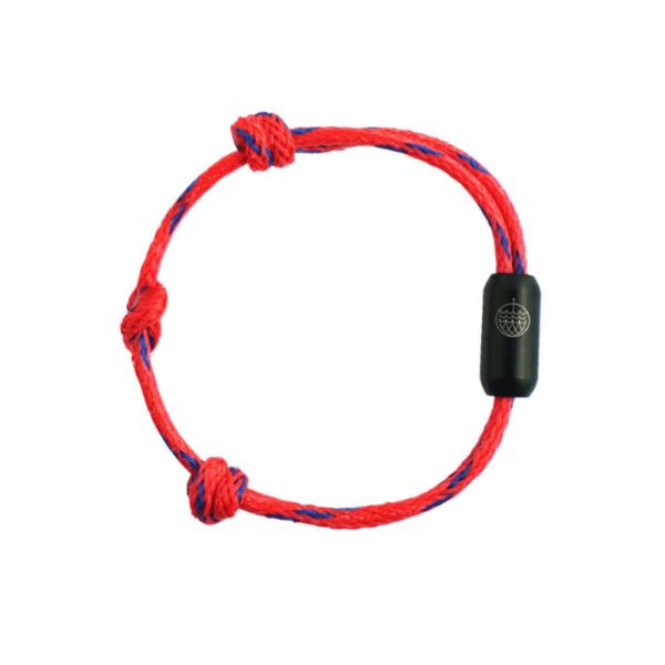e-typisch-Armband aus Geisternetzen - red sea