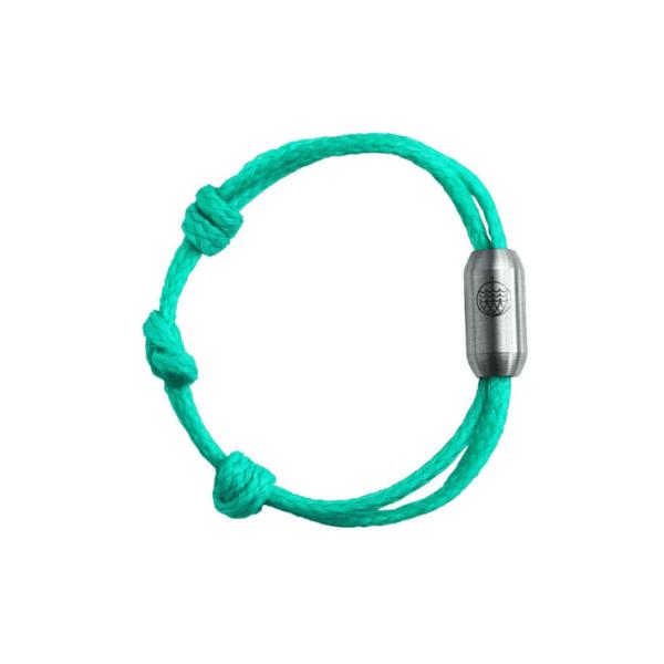 e-typisch-Armband aus Geisternetzen - sea of aland