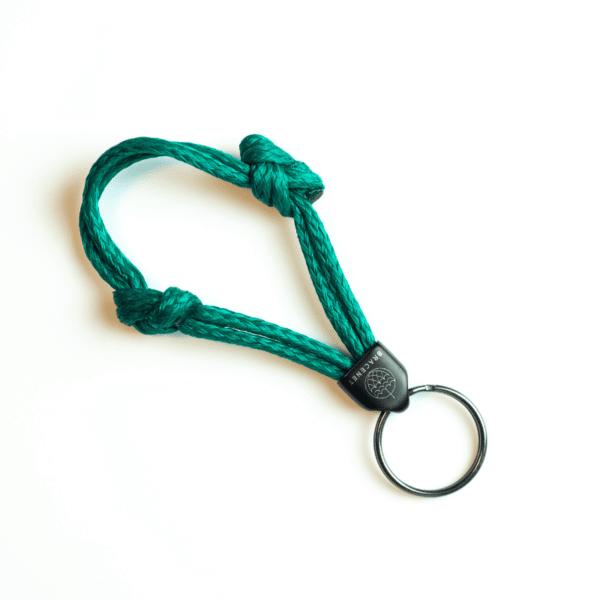 Schlüsselanhänger aus Geisternetz - keychain - e-typisch