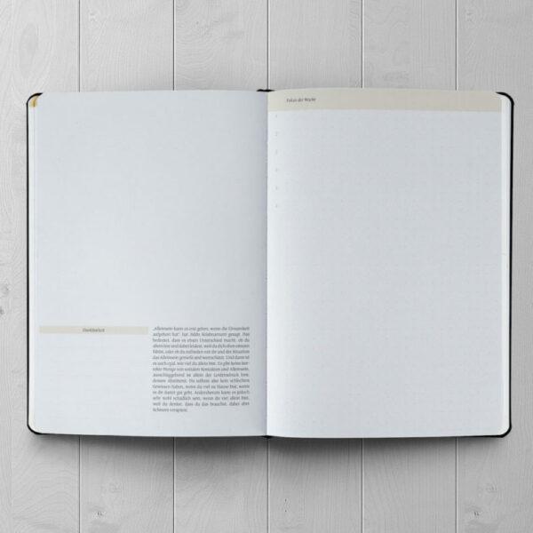 Achtsamer Planer - Ein guter Plan Pro Zeitlos (undatiert) Altrosa 3