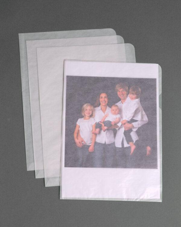 Sichhüllen aus Papier - e-typisch