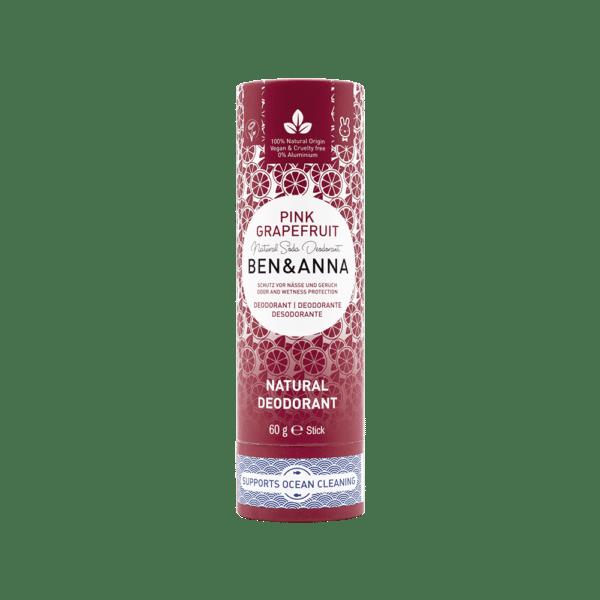 Deo-Stick aus Papier - Pink Grapefruit - 12,65€/100g - Inhalt 60g 1