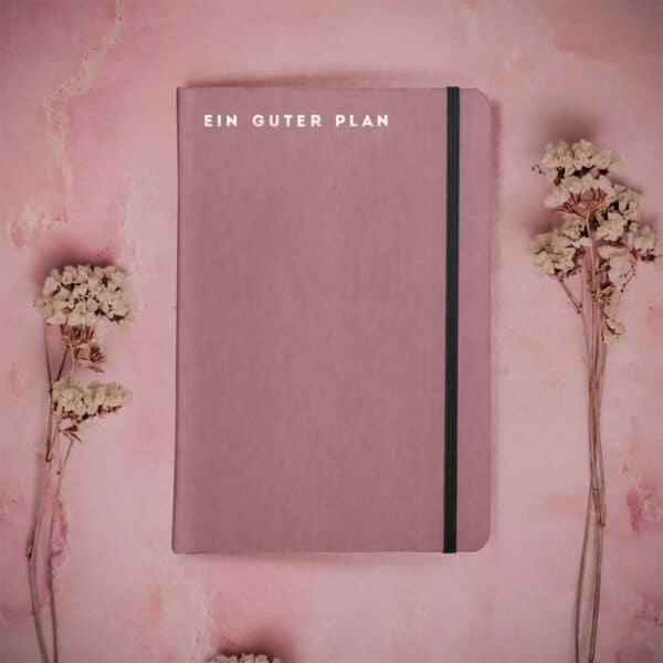 Achtsamer Planer - Ein guter Plan Pro Zeitlos (undatiert) Altrosa 5