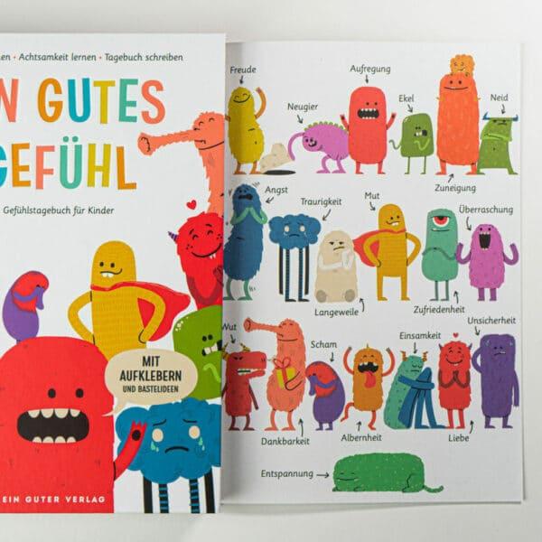 Achtsames Notizbuch für Kinder - Ein gutes Gefühl 5