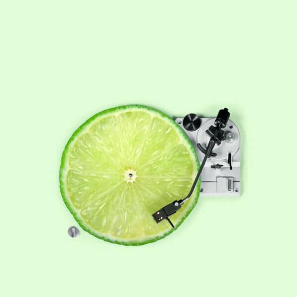 Tischset, 2 Stück im Set, 35x45cm, Design Lemon DJ 1