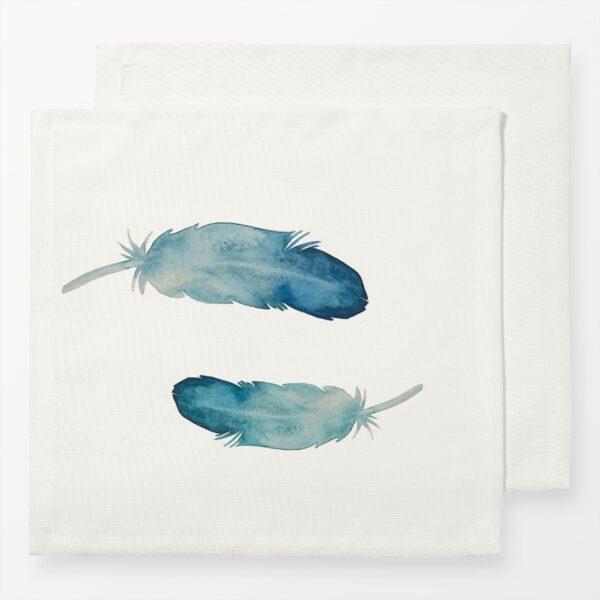 Servietten Boho Watercolor Feather