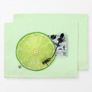 Tischset Lemon DJ